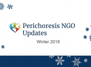 Perichoresis NGO Updates – Winter 2018